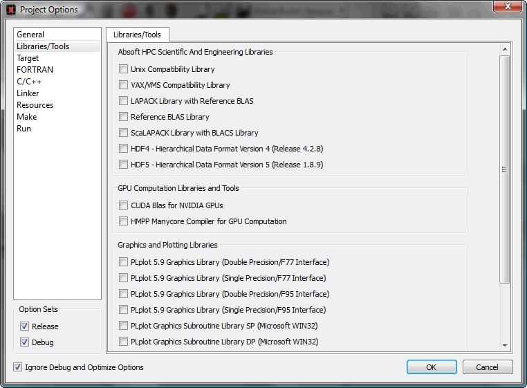 Absoft Pro Fortran | GMSL