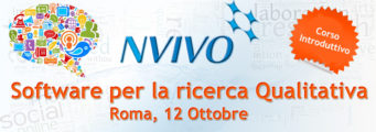 NVivoRoma_10_2015-copia-341x120 Corso introduttivo all'uso di NVivo, software per Analisi Qualitativa. Roma, 12 Ottobre 2015