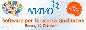 NVivoRoma_10_2015-copia-341x120 Corso introduttivo all'uso di NVivo, software per Analisi Qualitativa. Roma, 12 Ottobre 2015 Eventi, Corsi, Workshop Magazine News Servizi