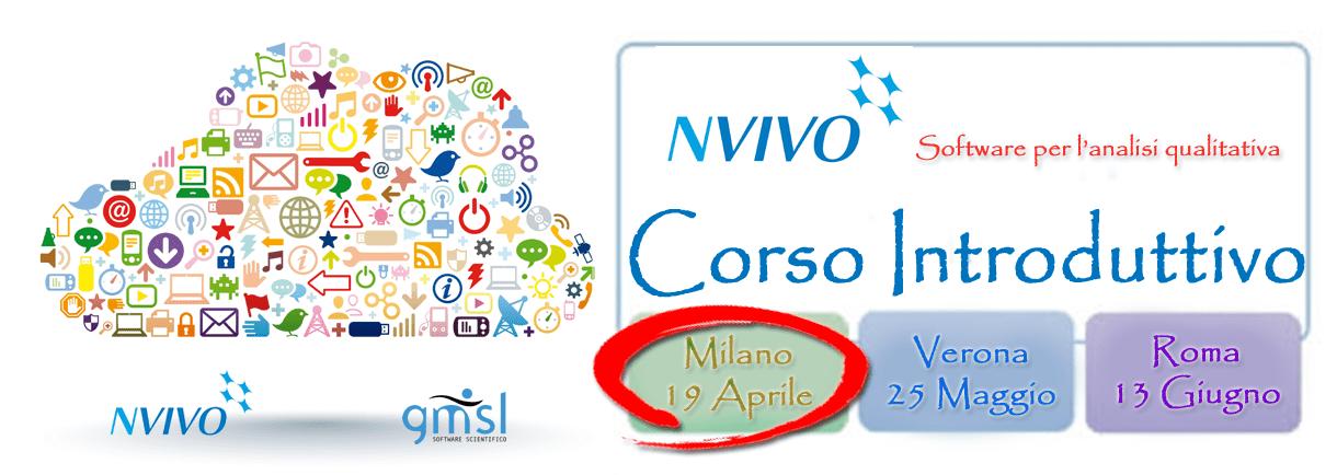 2017_04_NVivo-corso_MI NVivo - Corso Introduttivo. Milano, 19 Aprile