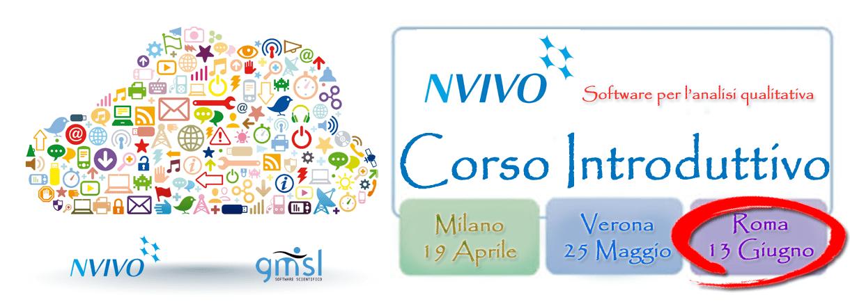 2017_06_NVivo-corso_ROMA NVivo - Corso Introduttivo. Roma, 13 Giugno 2017