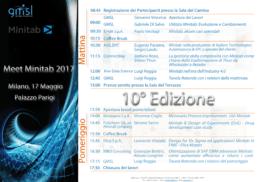2017_meet-minitab_programma-257x182 Meet Minitab 2017: consulta le presentazioni dei relatori!