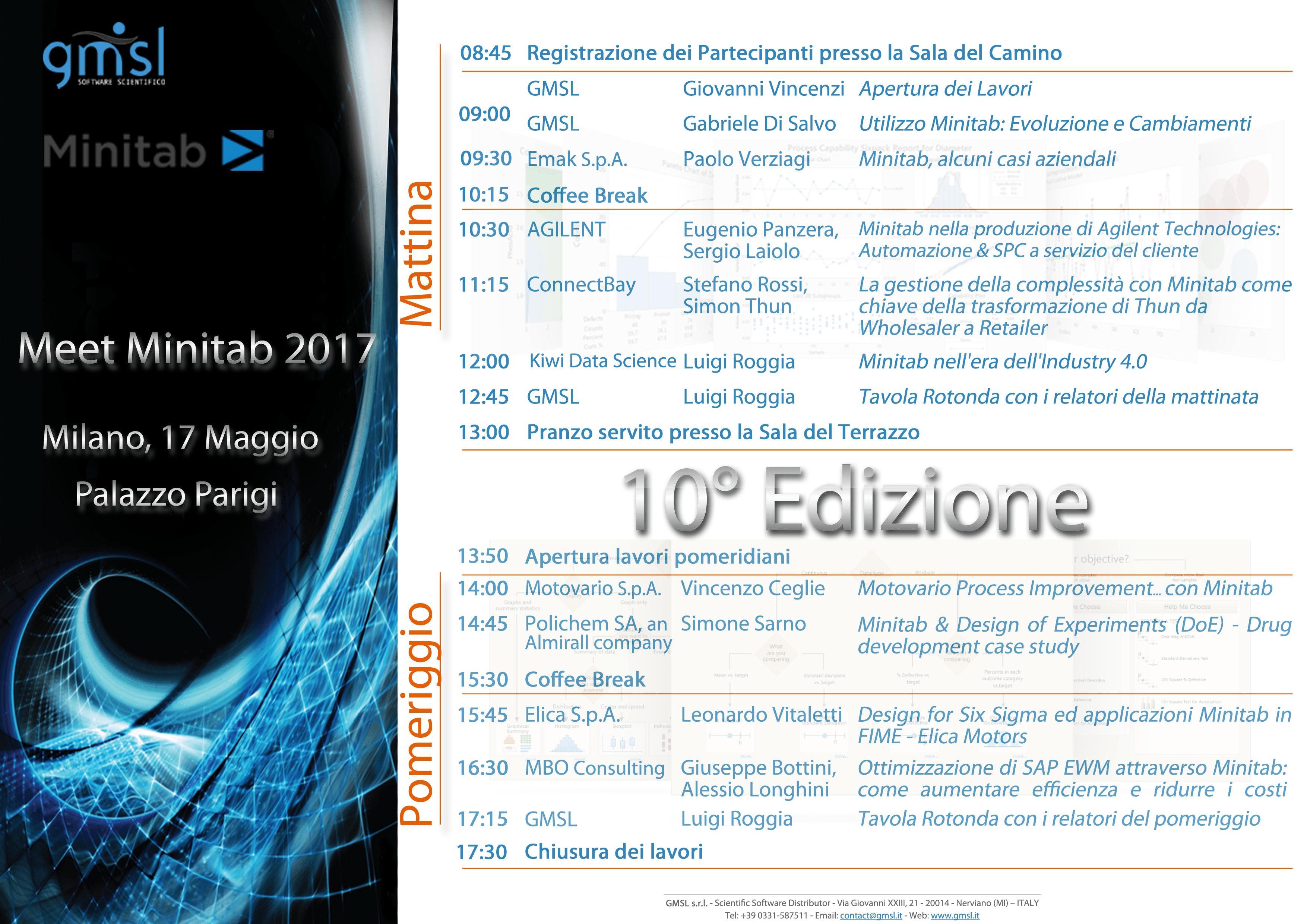 2017_meet-minitab_programma Meet Minitab 2017: consulta le presentazioni dei relatori!