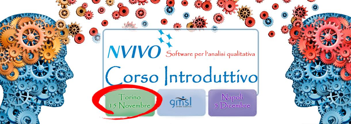 2017_NVivo_TO NVivo - Corso Introduttivo. Torino, 15 Novembre 2017