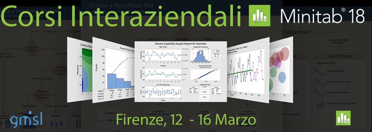 2018_03_Corsi-Pubblici-Mini Minitab – Corsi Interaziendali. Firenze, 12 - 16 Marzo 2018