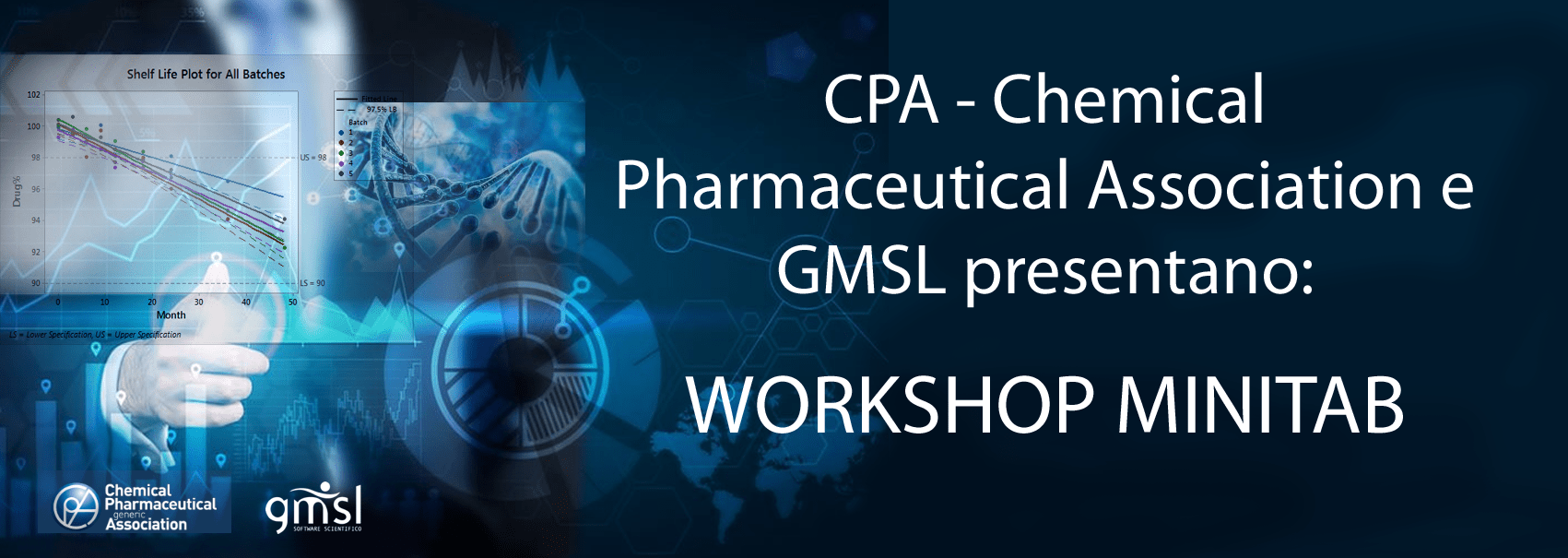 CPA Minitab| CPA Chemical Pharmaceutical Association e GMSL: Workshop Minitab Mixture Design