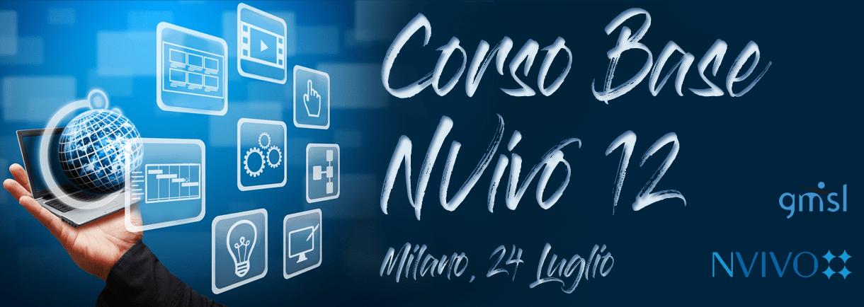 Corso-NVivo2018_07 NVivo 12: Corso Introduttivo. Milano, 24 Luglio