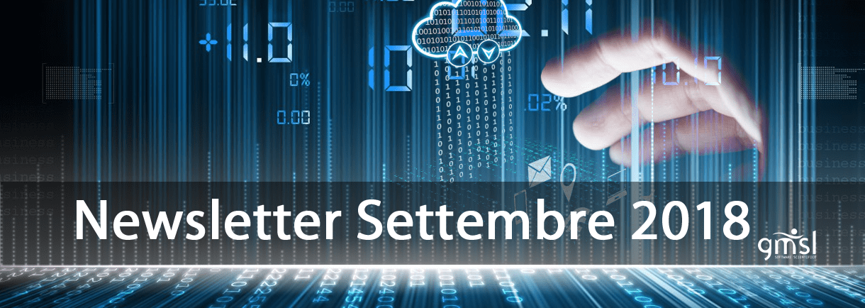 2018_Settembre GMSL News & Information | Settembre 2018
