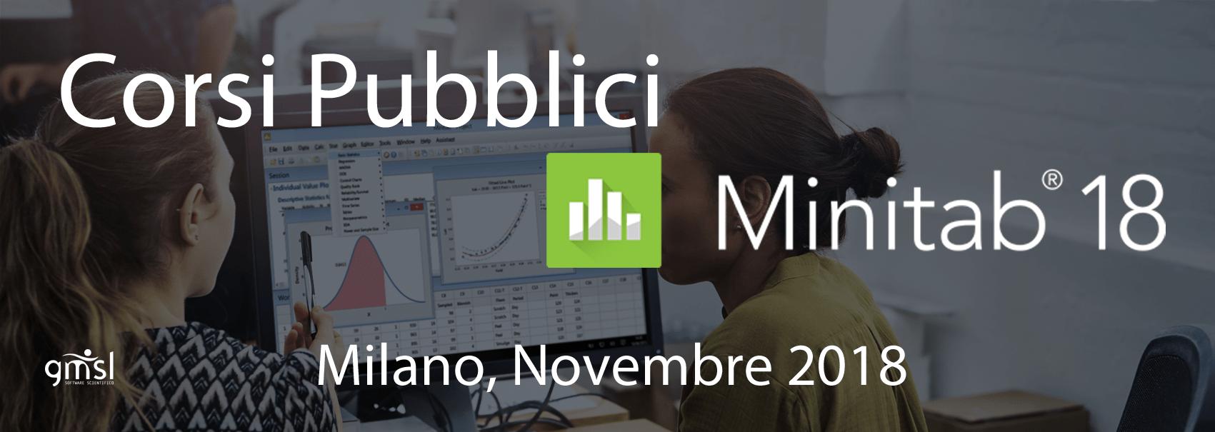Corsi-Minitab_MI_11_2018 Minitab – Corsi pubblici. Milano, Novembre 2018