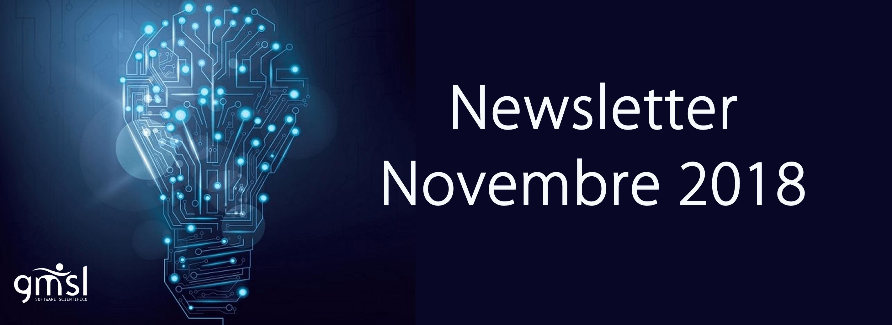 2018_Novembre InFormati con GMSL | Newsletter Novembre 2018