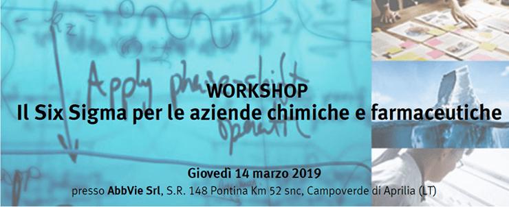 """2019_02_Festo Workshop gratuito """"Il Six Sigma per le aziende chimiche e farmaceutiche"""""""