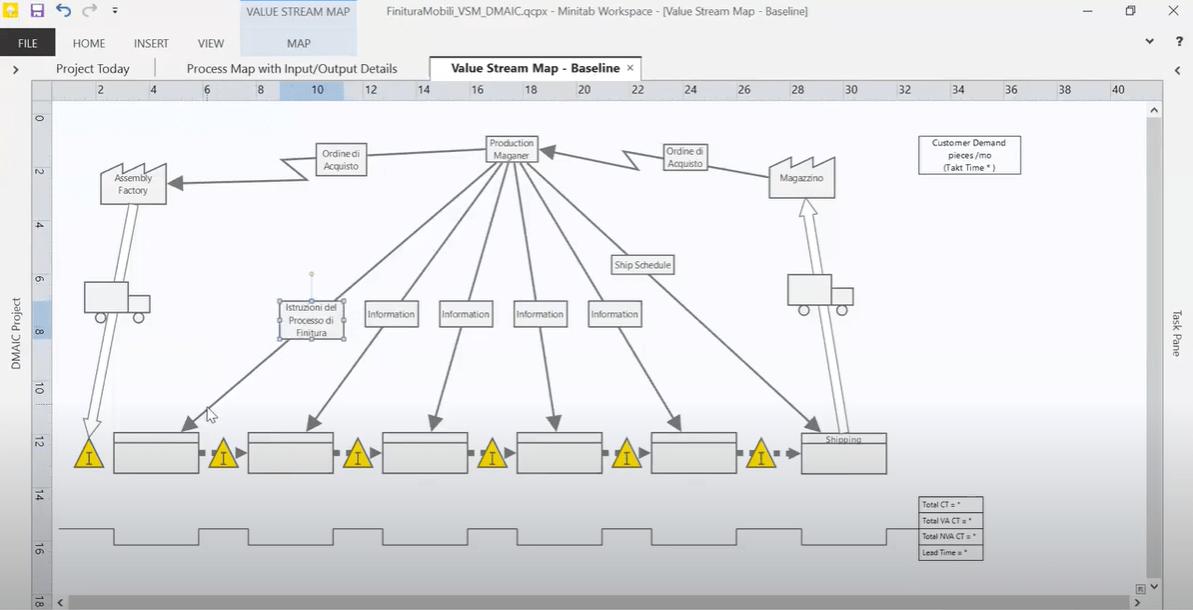 Minitab-workspace-VSM Minitab Workspace | Webinar: Value Stream Map in Minitab Workspace