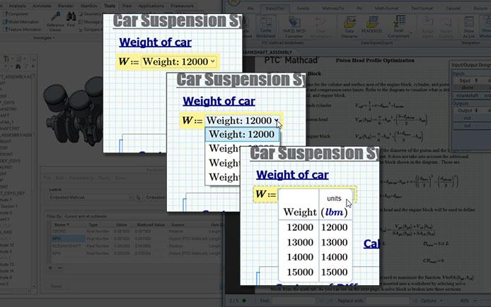 combobox PTC Mathcad | Mathcad Prime 7 Matematica e Progettazione Tecnica News Prodotti Prodotti in primo piano PTC Mathcad