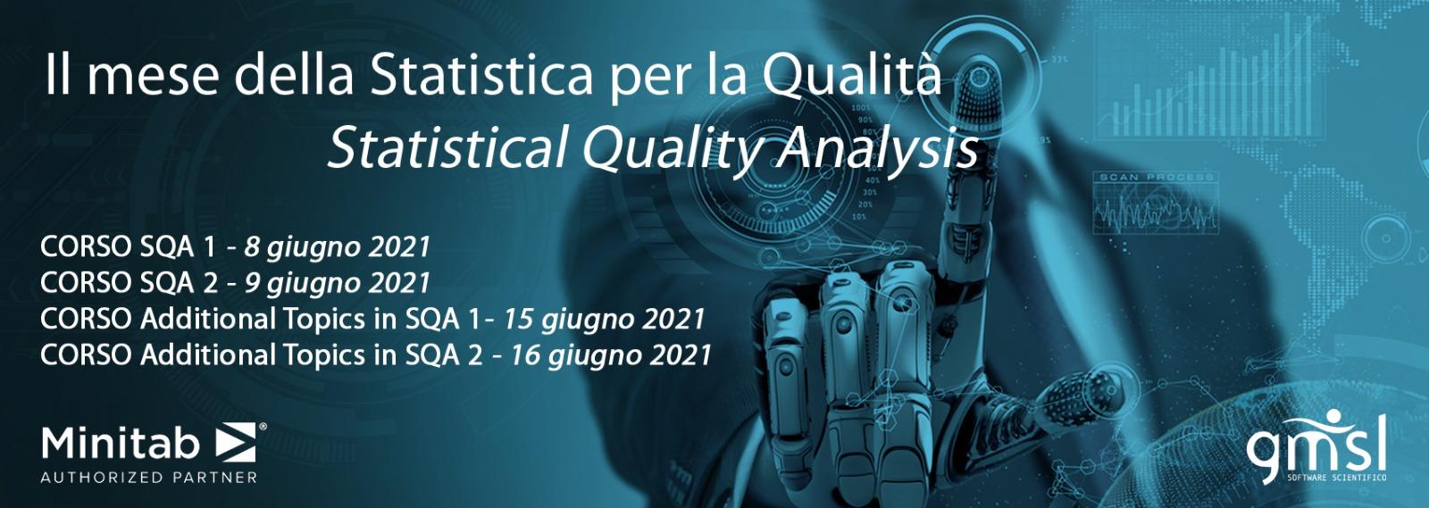 Mese-SQA Minitab | CORSI MINITAB - Il mese della Statistica per la Qualità (Statistical Quality Analysis)